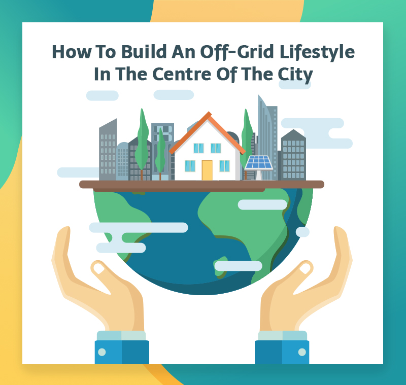 Living off-grid in the city