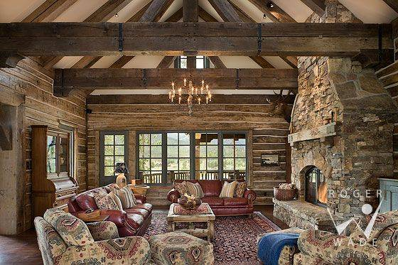 10 Log Cabin Interior Design Ideas To Inspire You