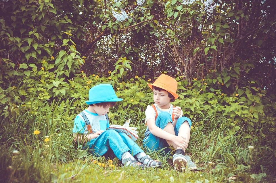 children and nature