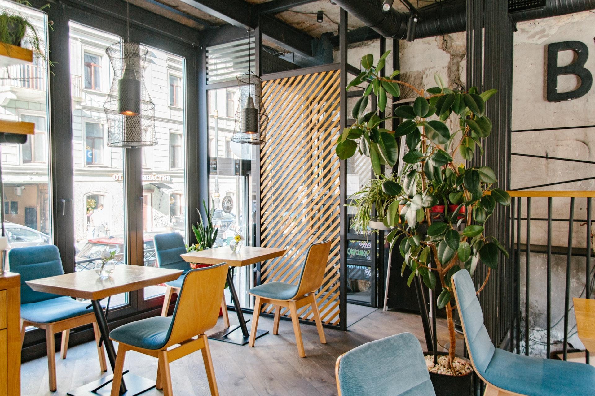 eco-friendly cafe