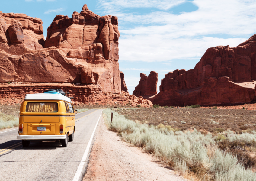 sustainable road trip