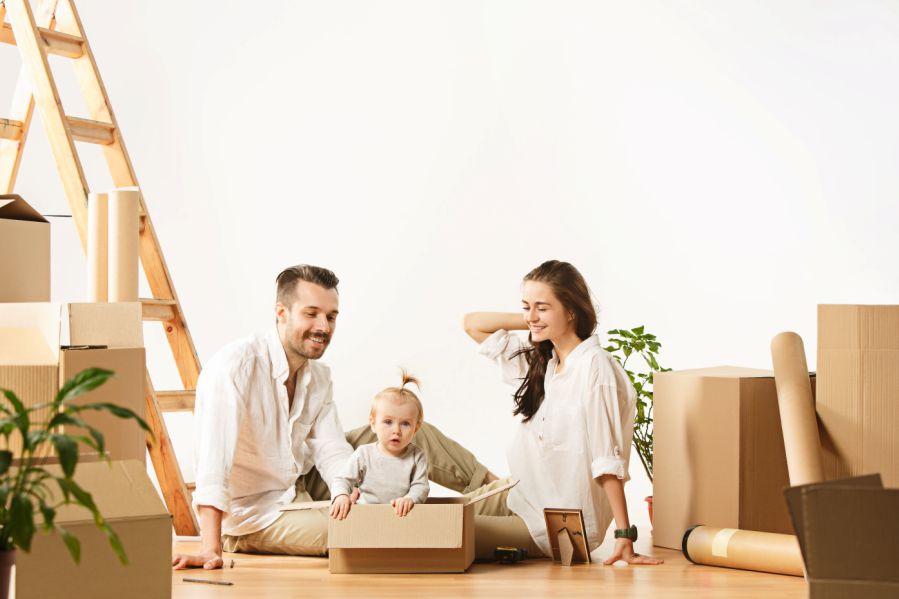 reduce waste when moving home