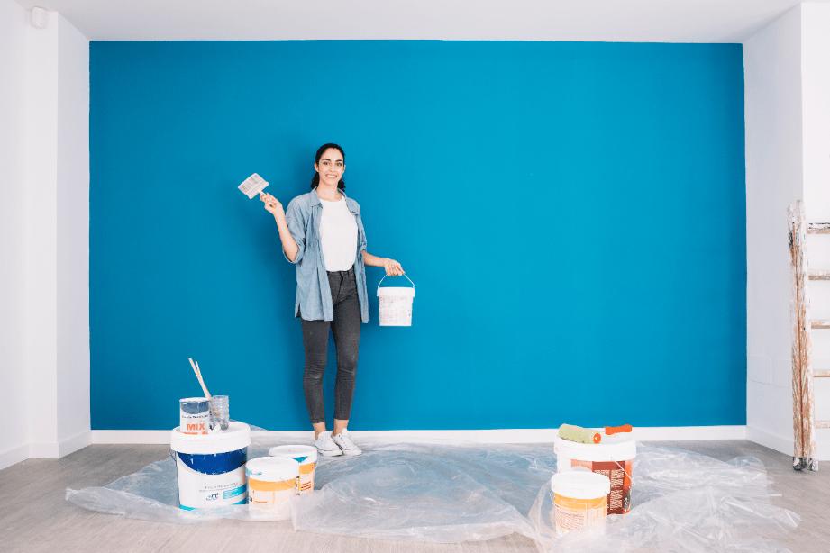 VOC in paint