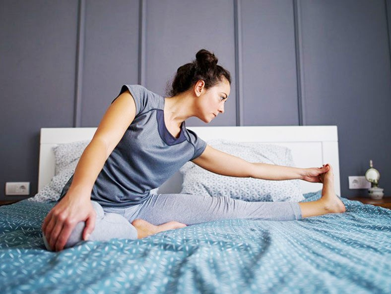 stretches for good sleep